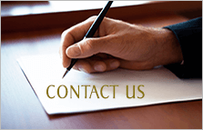Contact Us Hand With a Pen