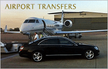 Airport Transfers Black and White Aeroplane