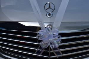silver Mercedes S Class wedding cars in York