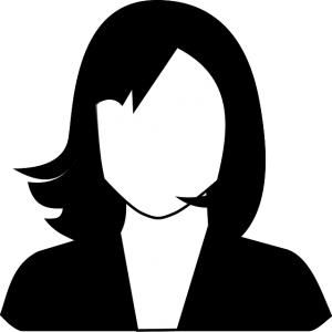 blank face picture of a woman