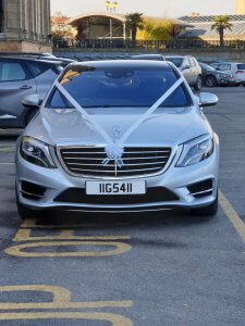 Our New Mercedes s class in silver