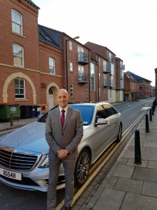 Picture Of Mark Heaney Professional Chauffeur