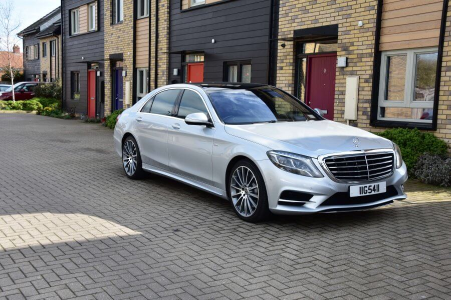 2018 Mercedes s class executive version