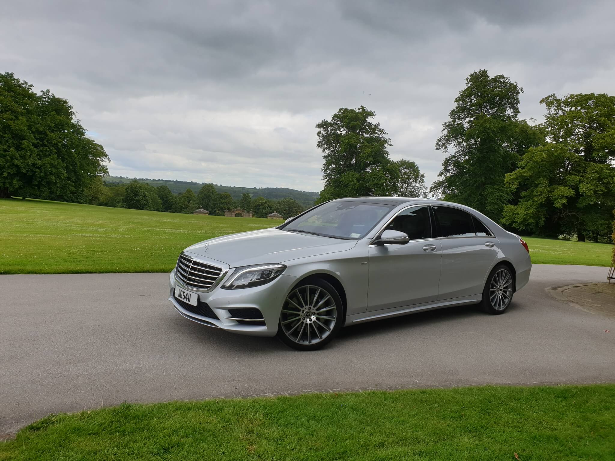 A picture of our Mercedes class at Swinton Estates
