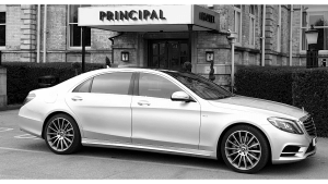 2018 Mercedes S Class Outside The Principal Hotel In York