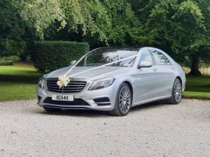 2018 Mercedes s class wedding car