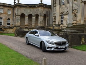 Our Mercedes s Class at Castle Howard