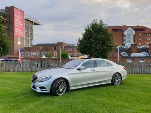 2018 Mercedes s class at York Races