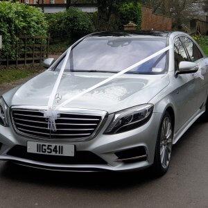 Our Superb Mercedes s Class Wedding Car