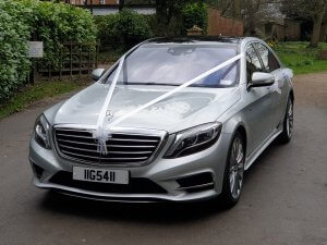 Beautiful 2018 Mercedes s class wedding car