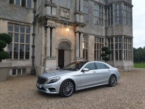Our Mercedes s class at Howsham Hall