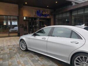 Mercedes s class at the Malmaison Hotel